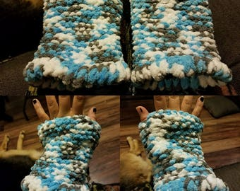 Blue Hand-Warmer Set