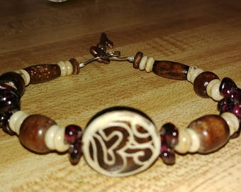 Aum bracelet ~ Om