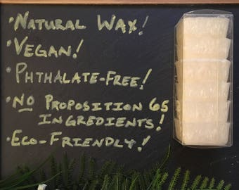 Wax Melts  - Peppermint Puff - Natural Wax - Phthalate free and hand-blended scents - Highly Scented - No Proposition 65 Ingredients