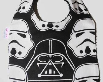 Baby Bib Star Wars Stormtrooper Darth Vader