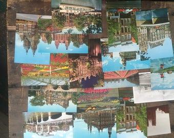 17 dutch postcards 1980s