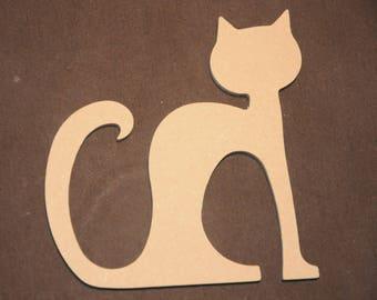 shape medium decorating theme sitting cat
