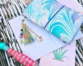 Llama charm, planner tassel, planner charm, bag charm, purse charm, stitch marker, planner tassel charm, travel journal charm