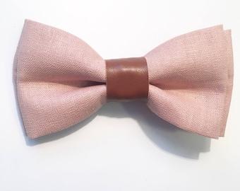 Bentley Bow Tie|Rose Denim Bow tie