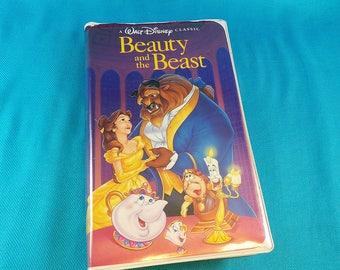 Beauty and the Beast Disney Black Diamond Classic VHS 1992