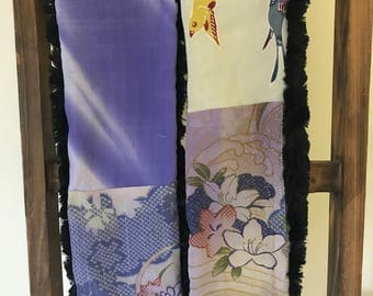 Japanese Silk Kimono Fabric Scarf