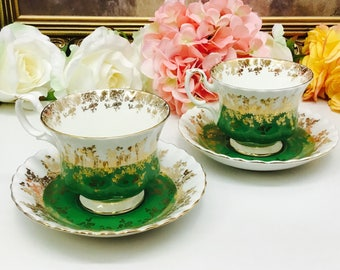 Royal Albert Regal Series teacup and saucer.