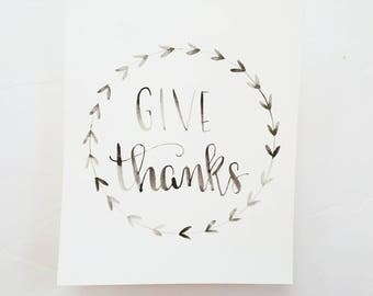 Give Thanks in Black
