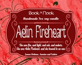 Aelin Fireheart | 7oz jar | Throne of Glass Scented Soy Candle