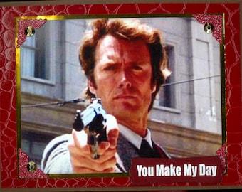 Dirty Harry Birthday Card