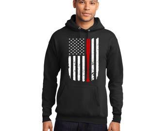 Walking Dead Negan's Flag Pullover Hooded Sweatshirt Hoodie