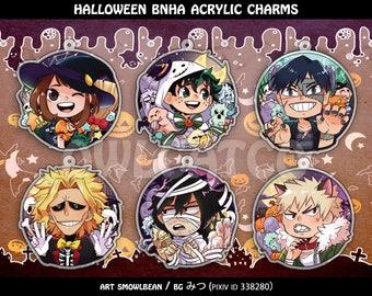 BNHA Halloween Charms