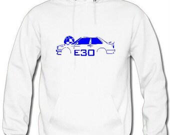 Sudadera con capucha BMW E30 - regalo de navidad - regalo para hombres - regalo para ella - sudadera con capucha bmw - regalo para él