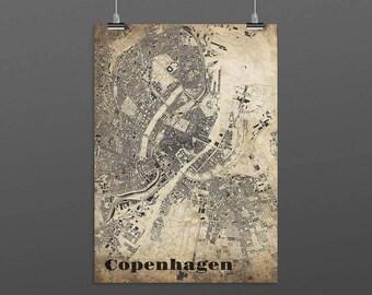 Copenhagen-Din A4/DIN A3-Print-Vintagestyle