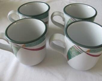 Noritake New West Four Mugs