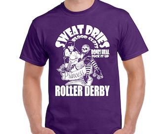 Roller Derby Princess shirt, Roller Derby shirt, Roller Derby girl tee, Rollerskater T shirt, Gift for Rollerskater girl