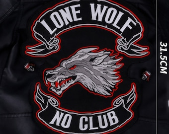 custom embroidered back patches for vest, custom back patches for jackets