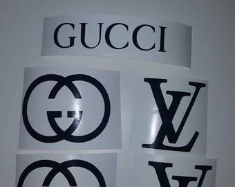 Louis vuitton Gucci Skin Decals