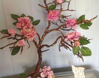 Souvenir Tree,Roses souvenir,Gemstone tree,Fine art tree,Tree of life,Roses,Magic tree, Magic souvenir,Home decor,Art decor,Roses and tree