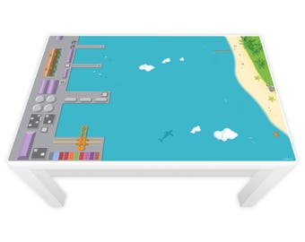 Game film, for lacquer table port and island (furniture not included) * 3 sizes *.