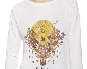 300 years Karlsruhe-shirt for girls, colorful