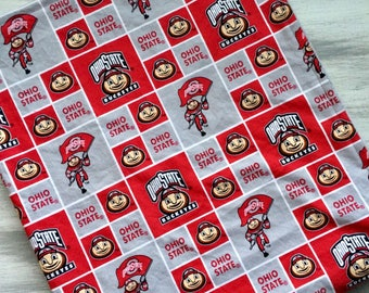 Cincinnati bengals football baby football blanket lovey osu baby lovey buckeye mini baby blanket minky baby buckeye personalized baby negle Image collections