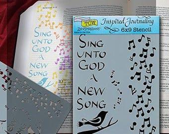 Bible Journaling Stencil