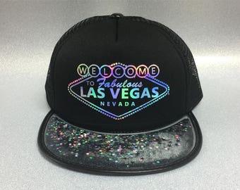 Las Vegas Hat Trucker hat city Hat - souvenir hats - souvenir gift