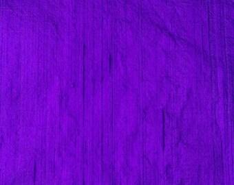 SALE 10% Free Shipping Blue Dupioni Silk Fabric