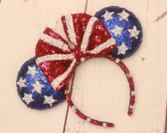 Patriotic inspired ears