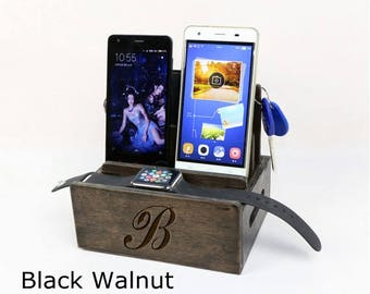 Christmas Gift, Apple Watch dock, wood charging station,best docking stations,Mini docking station,christmas gifts for men
