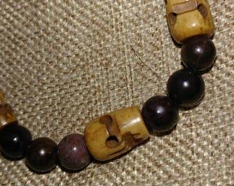 Natural Sugilite Crystal Bracelet