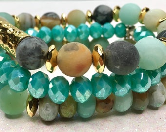 Turquoise Waters Stack