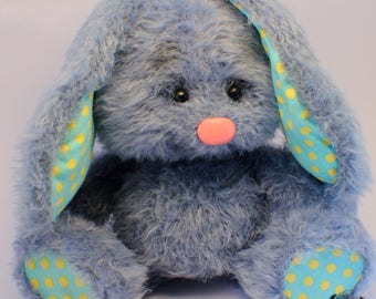 Stuffed animal Bunny Rabbits Knitted Toy Crochet bunny amigurumi toys Bunny Mi