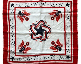 Vintage Ensign Flag Handkerchief