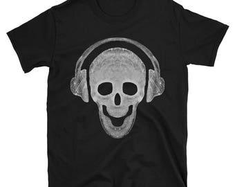 Skull and Headphones T-shirt