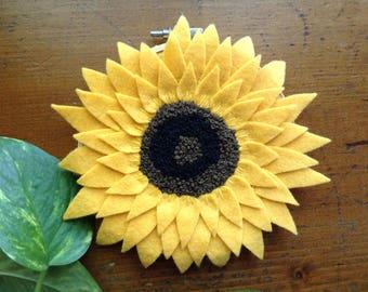 Sunflower Hoop