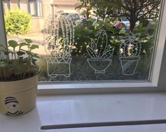 Windowdrawing Cacti