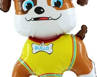 "Paw Patrol RUBBLE 35""/ 89 cm Foil Balloon"