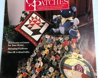 Simplicity, More Quilts and Patches, Exciting projects you can Easily make, Vintage, 1983