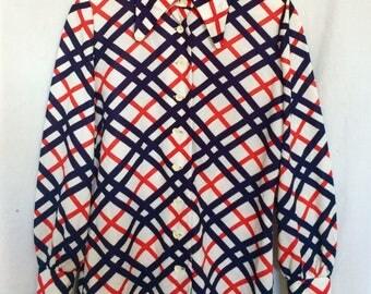 1970's Plaid Shirt