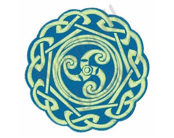 Celtic Spiral - Machine Embroidery Design