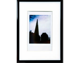 "Fine Art Photography ""Transamerica"" Framed Instax Mini Print"