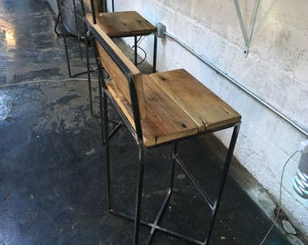 Bar stool industrial 5thdeco
