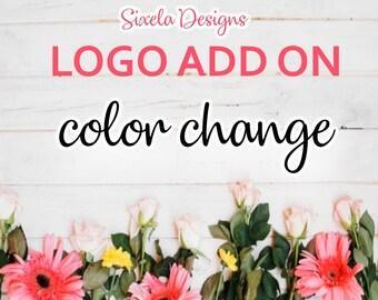 Color Change - Logo Add on
