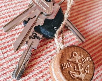 Sailor Jerry Keychain