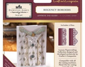 Crafter's Companion Downton Abbey Decorative Metal Die - Regency Borders