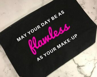 Make-up Bags - Cosmetic Pouch - Toiletry Bag - Make-up Bags UK - Cosmetic Bag - Travel Bag - Zipper Bag - Brush Bag - Makeup bag - Flawless