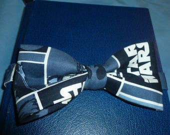 "Star Wars Bow Tie - 5"" bow with adjustable band and hook closure,  boy star wars bow tie, yoda bowtie, blue bowtie, junior groomsmen bowtie"