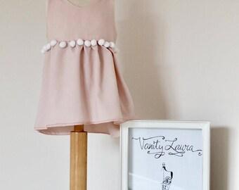 Kids girls dress. Dress for little girl.